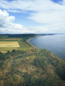 View during our hike at Ebey's Landing