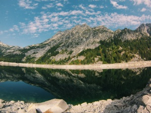 Snow Lakes in the Enchantments